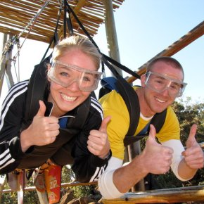A Healthy Dose of Fear: Zip Lining in South Africa