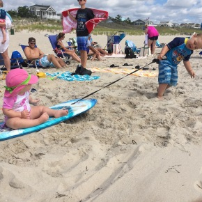 Toddlers Don't Sit: A Long Beach Island Vacation Recap