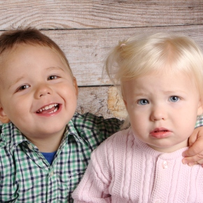 The Sibling Love Hug Tackle: Our Story onHuggies.com!